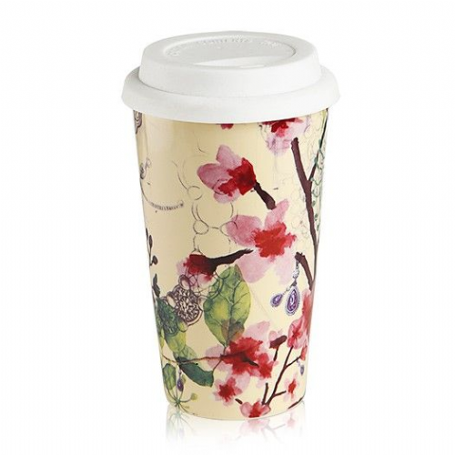 Newbridge Floral Travel Mug
